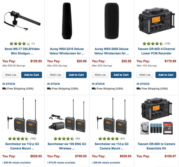 34 NAB special deals now live...