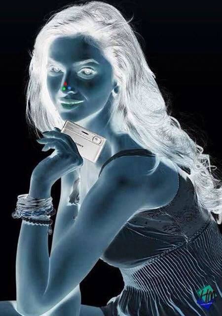 Stare at my red dot for 30 seconds, then follow the instructions above...