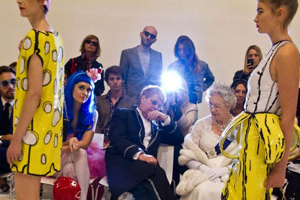 Sir Elton John and Her Majesty | Alison Jackson