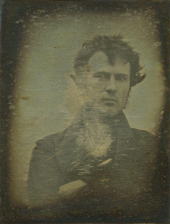 The first ever selfie -- 1839.