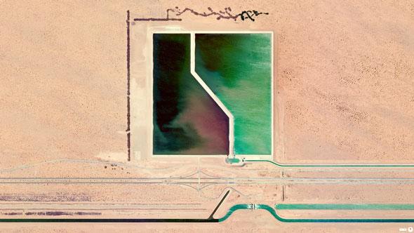 Brock Reservoir -- Gordons Well, California, U.S.A. | Daily Overview