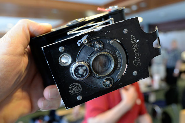 Piccolette camera, anyone? Takes the same nice pictures today as since 1919 when first introduced...