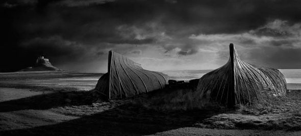 Lindisfarne Boates by David Byrne — the photo disqualified from Landscape Photographer of the Year 2012