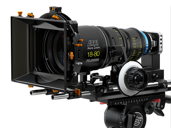 Why not. The ultimate rig. A  Micro Four Thirds Blackmagic Pocket Cinema Camera on lens steroids.