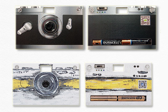 Paper Shoot -- design your own digital paper camera.