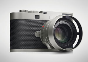 When Leica meets Audi... another impressive M variation dedicated to functional minimalism.
