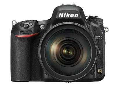 Newest kid on the full-frame block -- Nikon D750.
