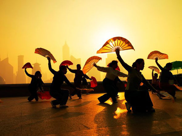 Morning Exercise, Shanghai | Justin Guariglia / National Geographic