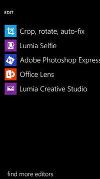 If these free, versatile and good quality photo editing softwares don't do it for you, I don't know what will.