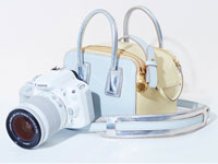 The limited edition Stella McCartney Canon camera bag