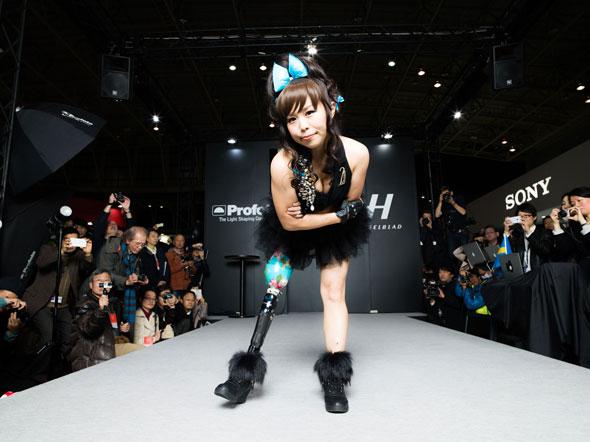Hasselblad's Amputee Venus fashion show