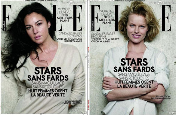 Fashion photography without Photoshop?! ELLE France, April 2009 | Photographed by Johan Lindeberg