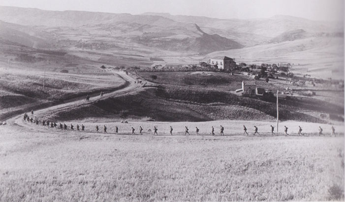 Near Troina, Sicily, August 1943