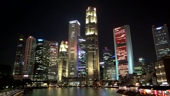 Singapore Downtown -- Nokia Lumia 830 | Daniel Kestenholz