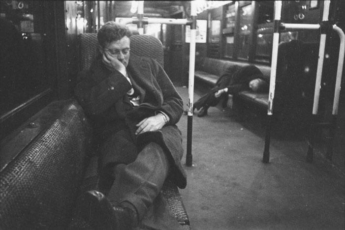 New York Subway, 1946 | Stanley Kubrick