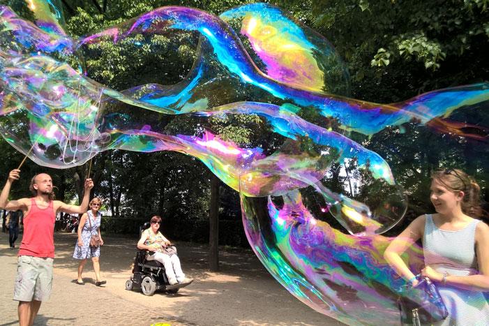 Soap bubble -- Tiergarten, Berlin