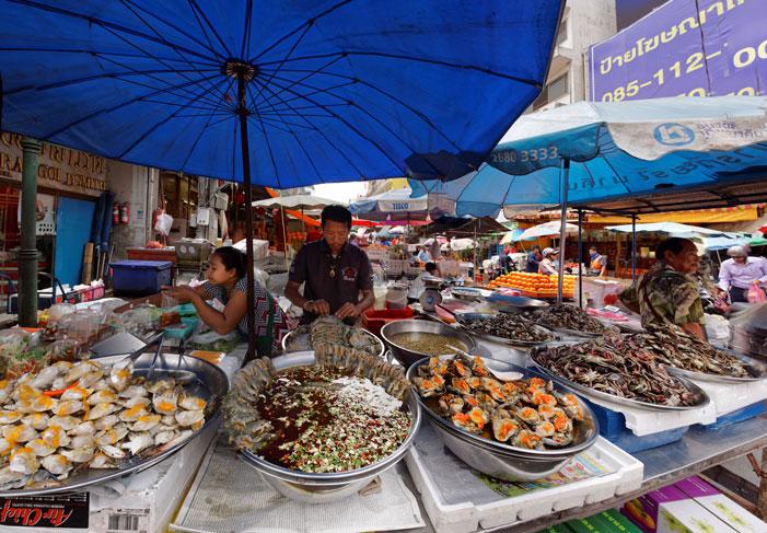 In a Bangkok Market I | Karel van Wolferen