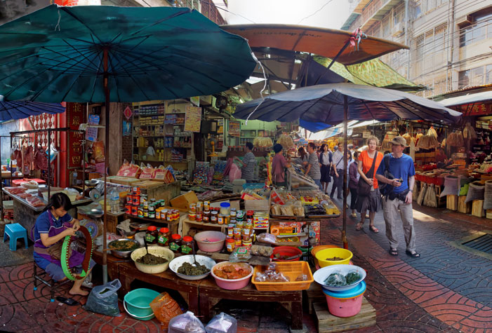 In a Bangkok Market II | Karel van Wolferen