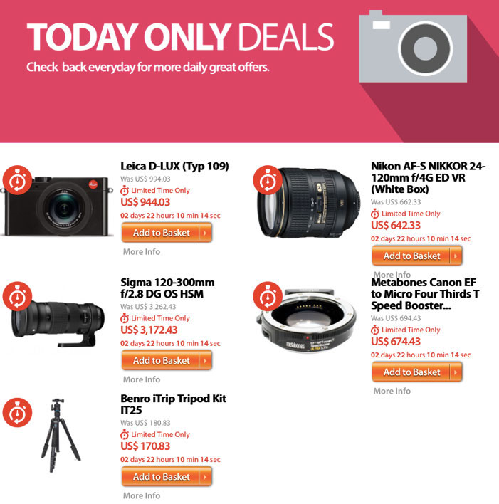 DigitalRev Daily Deals