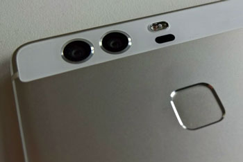 Leaked product shot of upcoming Huawei dual lens  flagship P9, powered by Leica optics. | VentureBeat