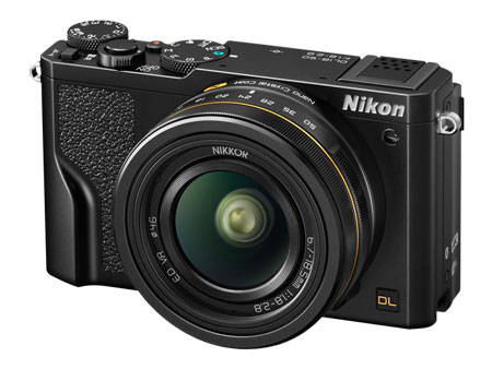 The premium compact Nikon DL18-50 takes pro-level performance wherever you go.