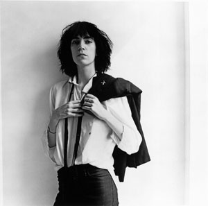 Patti Smith's Horses cover photo by Robert Mapplethorpe