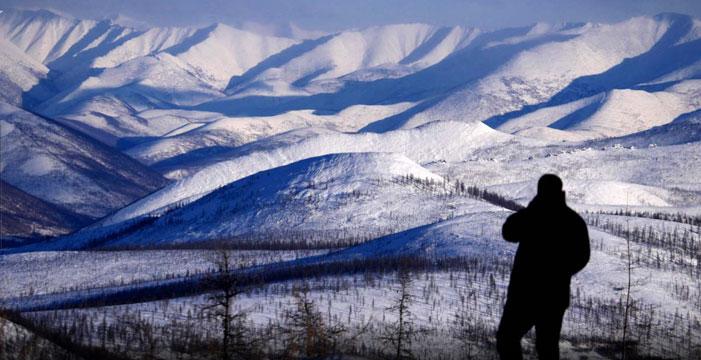 Along Siberia's ice highway |  Amos Chapple / RFE/RL