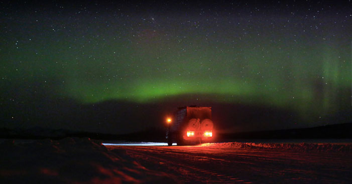 Arctic sky over Siberia | Amos Chapple / RFE/RL