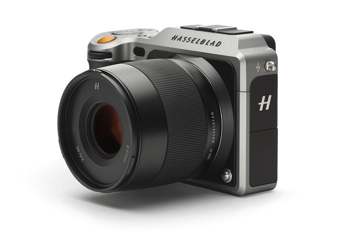 Hasselblad X1D-50c -- world's first compact mirrorless digital medium format camera
