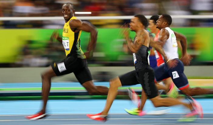 Usain Bolt @ Rio Olympics by Kai Pfaffenbach, Reuters
