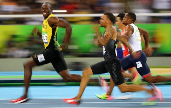 Usain Bolt by Kai Pfaffenbach
