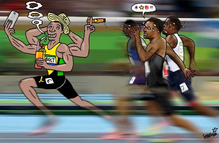 Usain Bolt by Peray Stéphane...