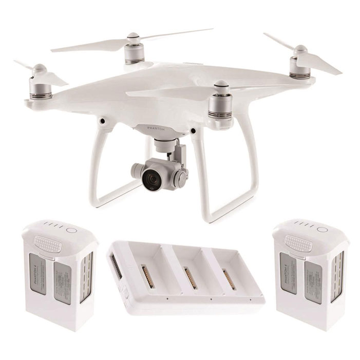 Cyber Monday DJI Phantom 4 Quadcopter bundle deal with all the extras, $999 only.
